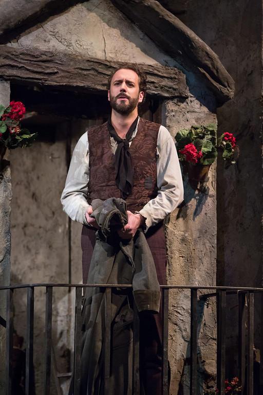 Christian Van Horn as Colline in Puccini's La Boheme