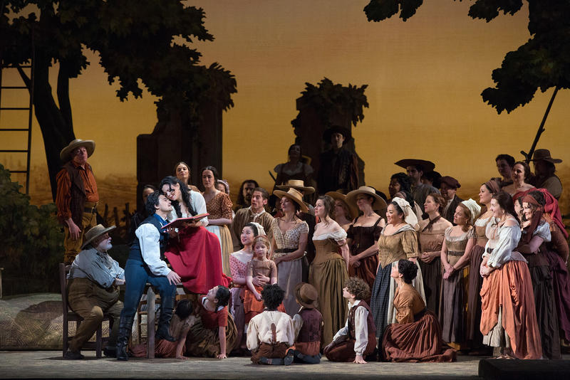 Scene From Donizetti's L'Elisir d'Amore