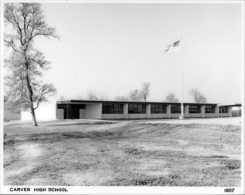 Ellerbe Road School - AKA - George Washington Carver High School. - Northwest Louisiana Archives at LSUS