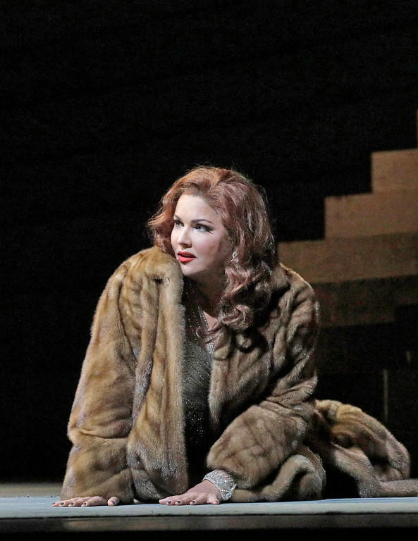 Anna Netrebko in the title role of Puccini's Manon Lescaut. Photo by Ken Howard