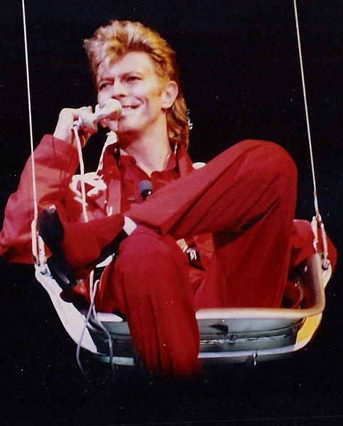 David Bowie at the Rock am Ring and Rock im Park music festival