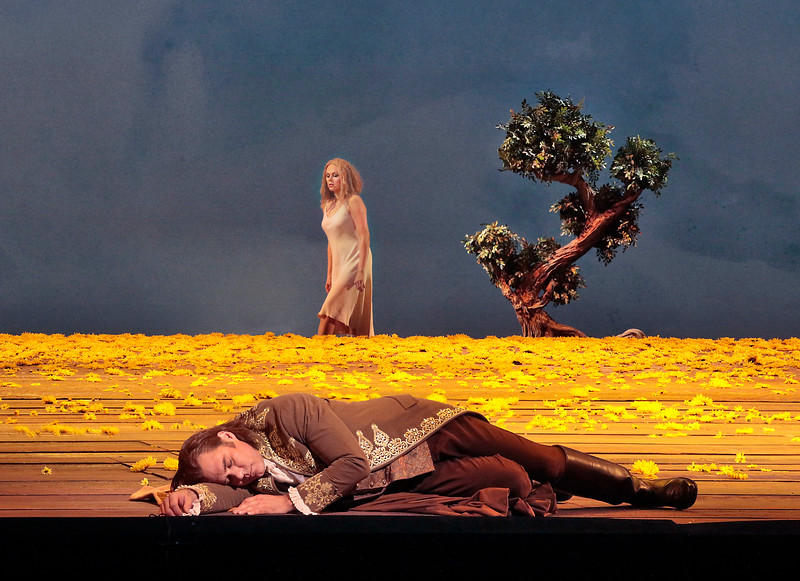 Kristine Opolais in the title role and Brandon Jovanovich as the Prince in Dvořák's Rusalka