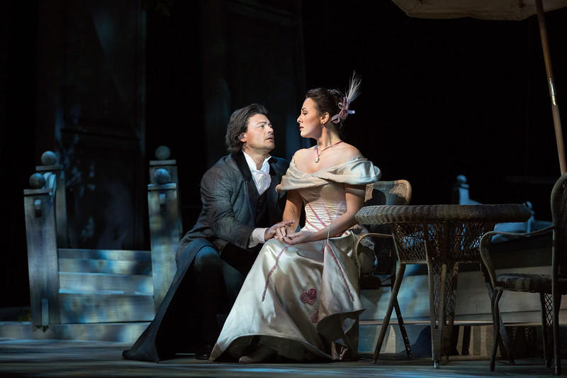 Vittorio Grigolo in the title role and Isabel Leonard as Charlotte in Massenet's Werther