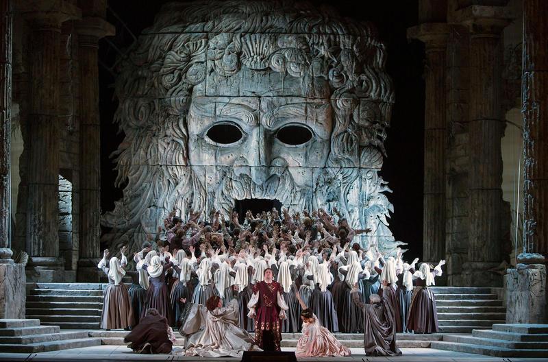 A scene from Mozart's Idomeneo