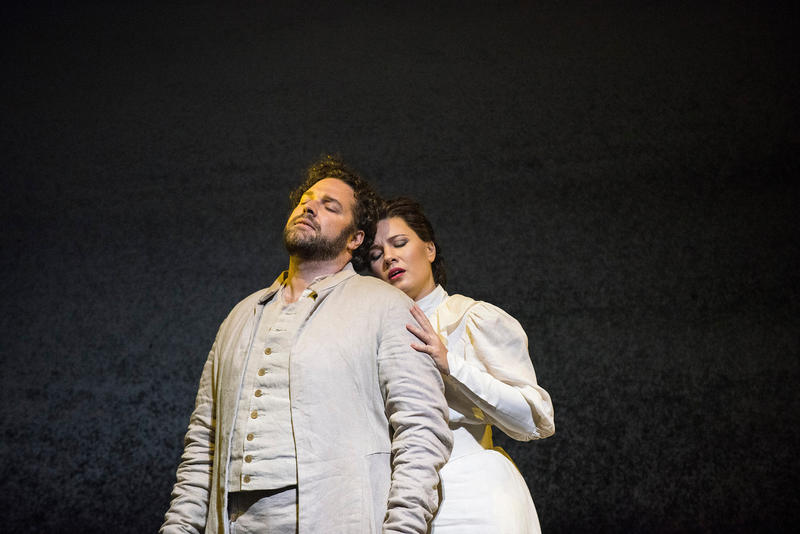 Bryan Hymel as Arnold and Marina Rebeka as Mathilde in Rossini's Guillaume Tell