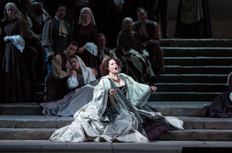 Elza van den Heever as Elettra in Mozart's Idomeneo