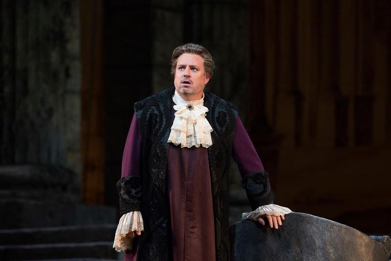 Matthew Polenzani in the title role of Mozart's Idomeneo