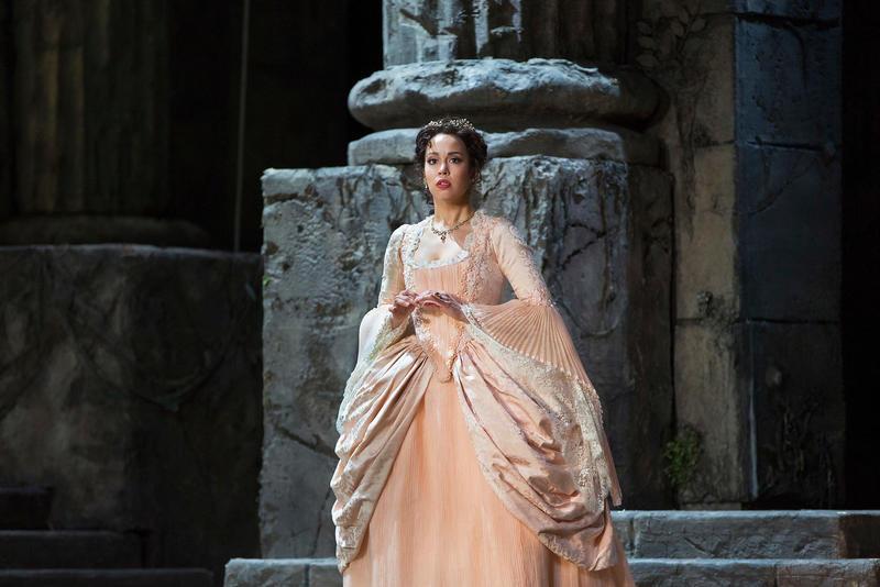 Nadine Sierra as Ilia in Mozart's Idomeneo