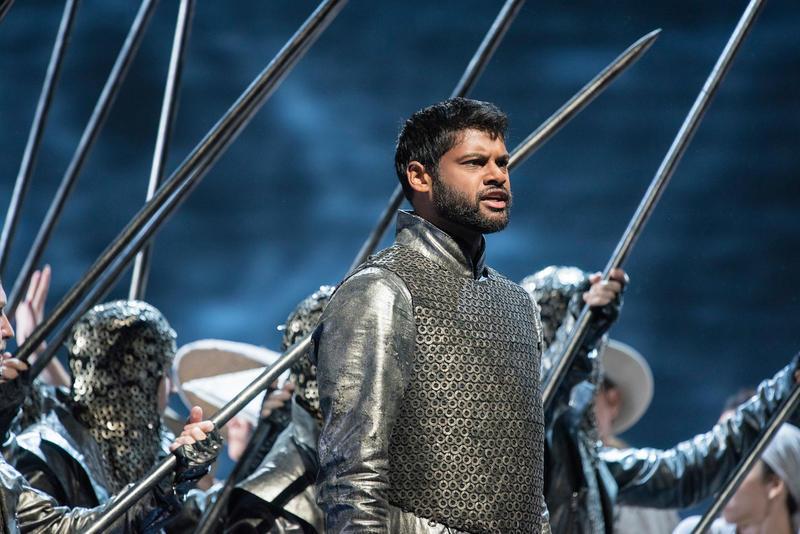 Sean Pannikar as Rodolphe in Rossini's Guillaume Tell