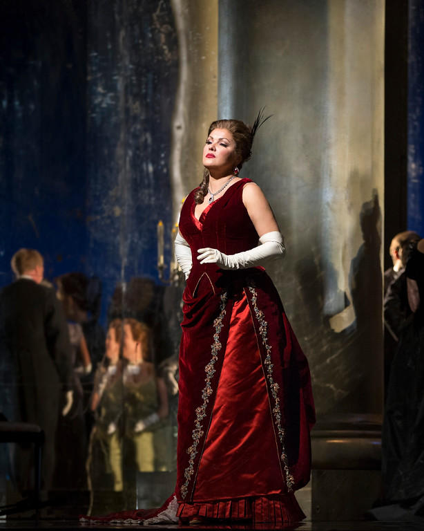 Anna Netrebko as Tatiana in Tchaikovsky's Eugene Onegin