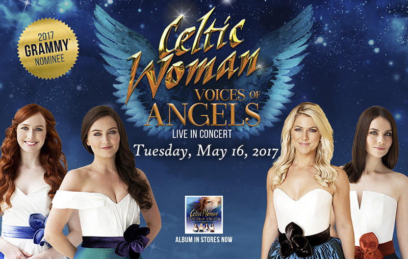 We will give away pairs of tickets to see Celtic Women at the Belcher center throughout the drive