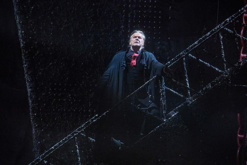 Michael Volle as Holländer in Wagner's Der Fliegende Holländer