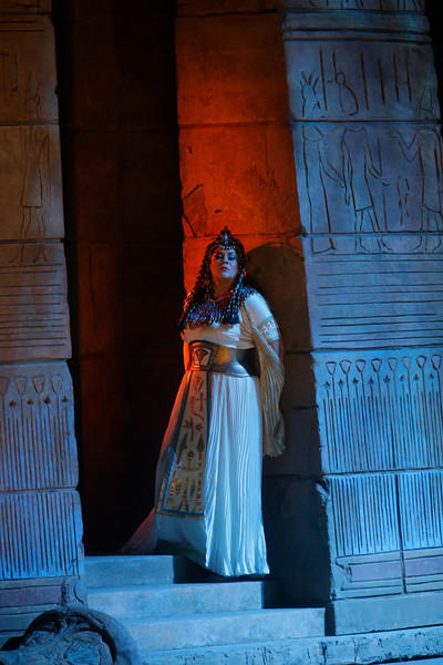 Violeta Urmana as Amneris in Verdi's Aida