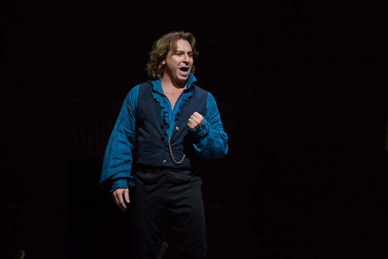 Roberto Alagna (seen here as Cavaradossi in Tosca) sings the title role in Alfano's Cyrano de Bergerac