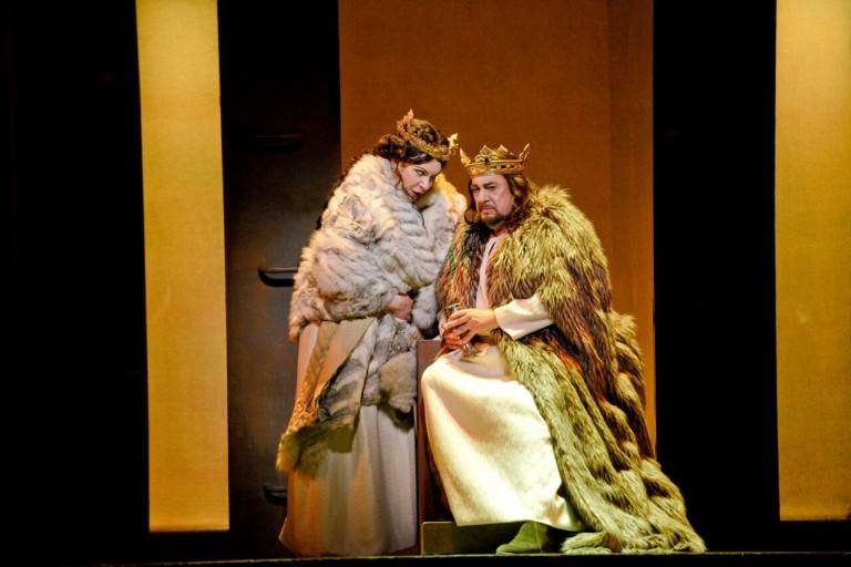 Ekaterina Semenchuk as Lady Macbeth and Plácido Domingo as Macbeth
