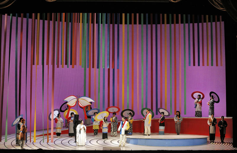 Scene from Puccini' Madama Butterfly
