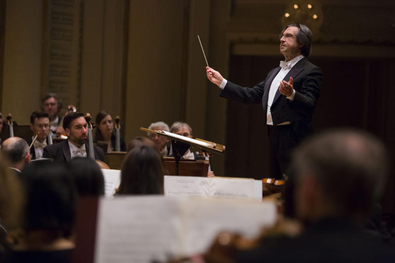 Riccardo Muti leads the CSO.