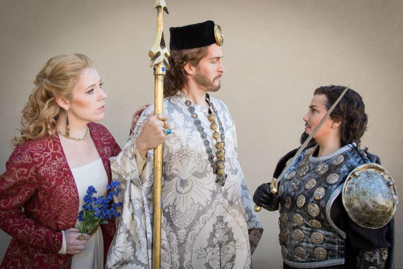 Scene from Gioacchino Rossini's Tancredi