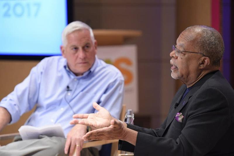 Walter Isaacson and Henry Louis Gates at the Aspen Ideas Festival