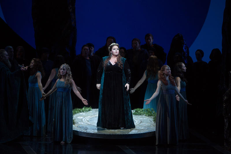 "Angela Meade in the title role of Bellini's ""Norma."""
