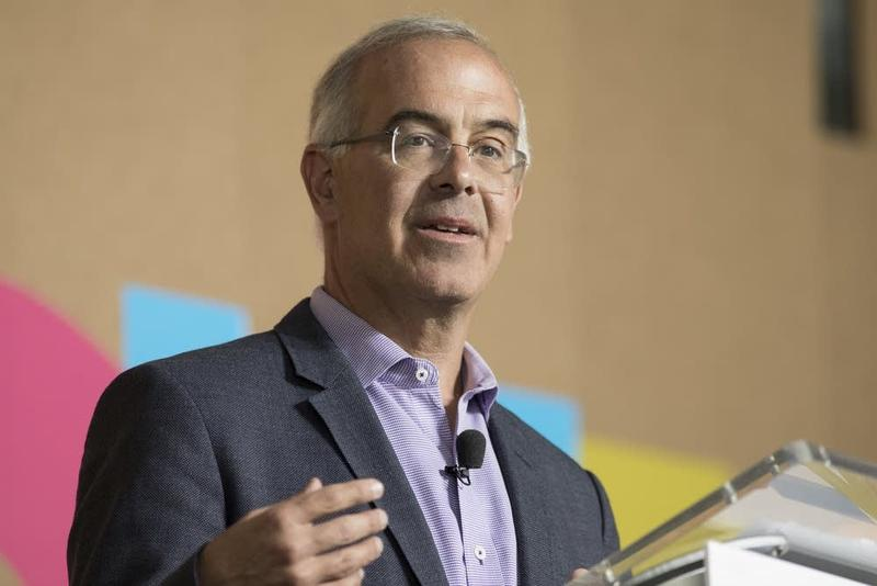 Conservative commentator David Brooks at the Aspen Ideas Festival.