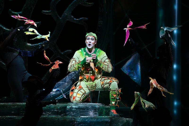 Nathan Gunn as Papageno in Mozart's The Magic Flute