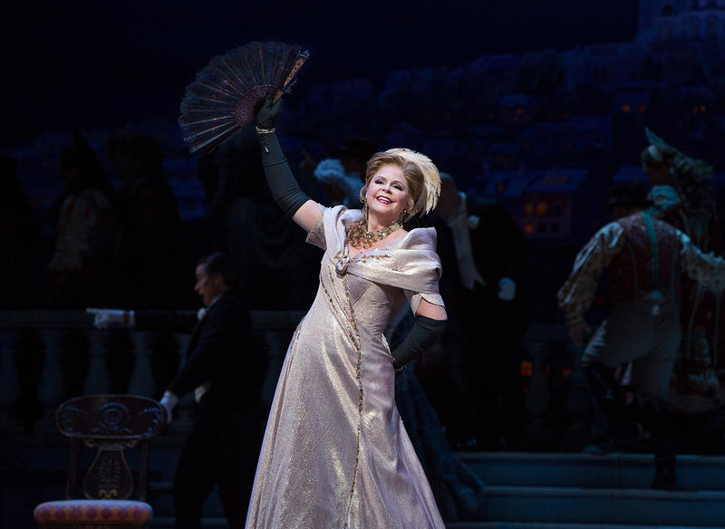 Susan Graham as Hanna in Lehár's The Merry Widow