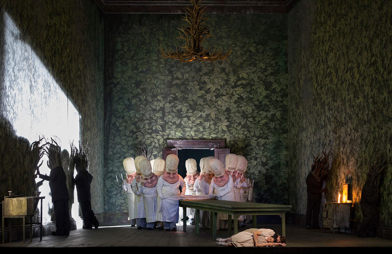 A scene from Humperdinck's Hansel and Gretel