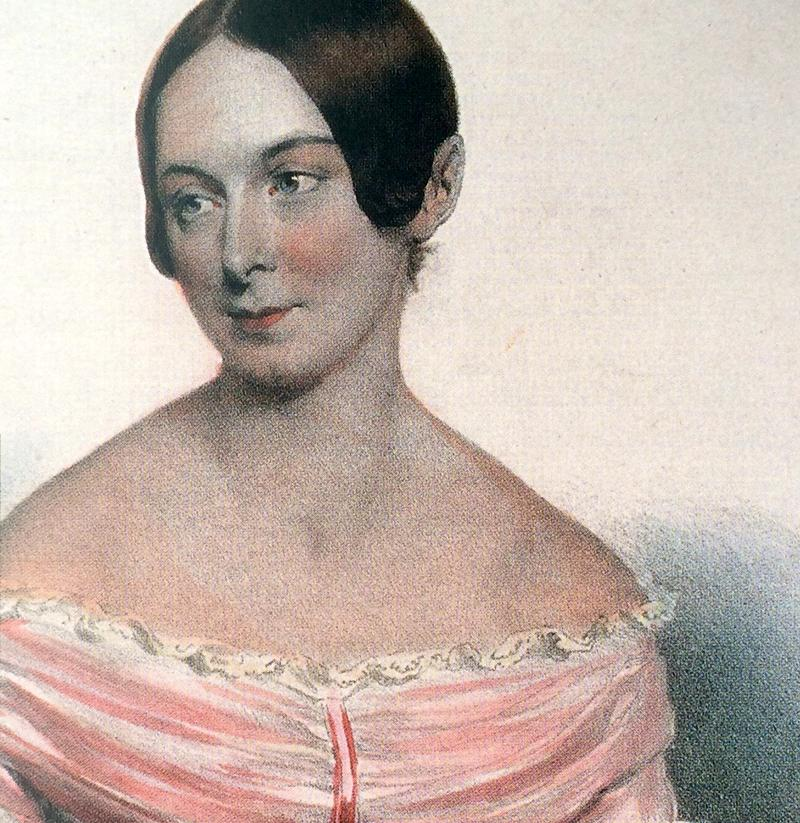 Caroline Unger, who sang the contralto part at the first performance and is credited with turning Beethoven to face the applauding audience.