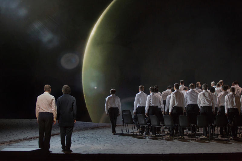 A scene from Act I of Wagner's Parsifal