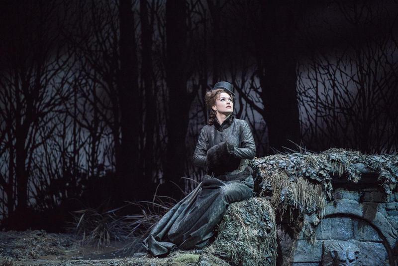 "Olga Peretyatko-Mariotti in the title role of Donizetti's ""Lucia di Lammermoor."""