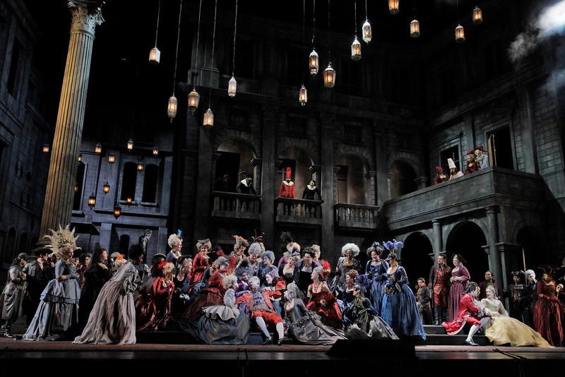 A scene from Gounod's Roméo et Juliette