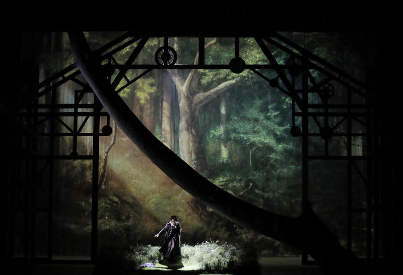 Scene from Wagner's Die Walküre