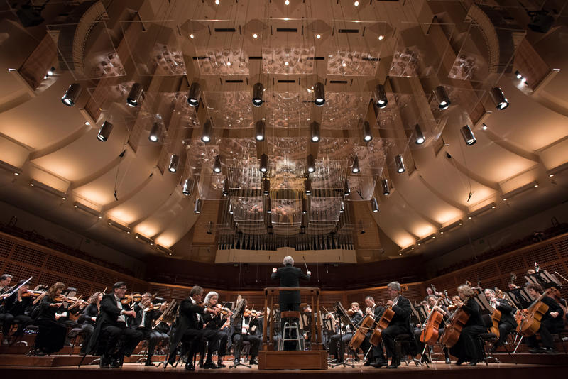 San Francisco Symphony on stage