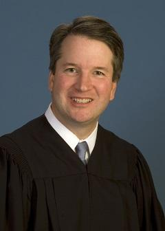 Judge Brett Kavanaugh, U.S. Court of Appeals for the District of Columbia Circuit
