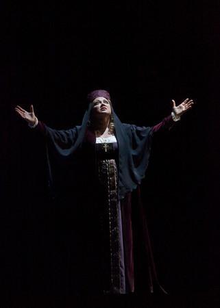 "Olga Borodina as Marfa in Mussorgsky's ""Khovananshchina."""