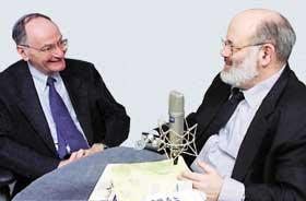 Rabbi Ismar Schorsch & Larry Josephson