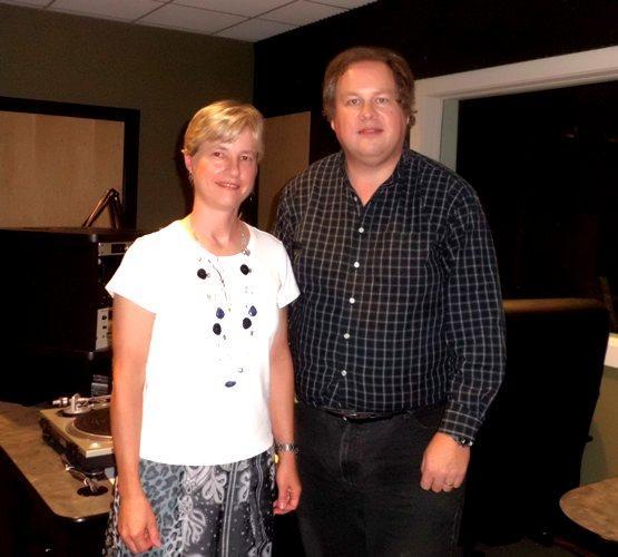 Dr. Debra Elliott Davis & host Kermit Poling