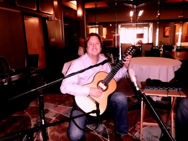 Jason Vieaux in RRR Studios