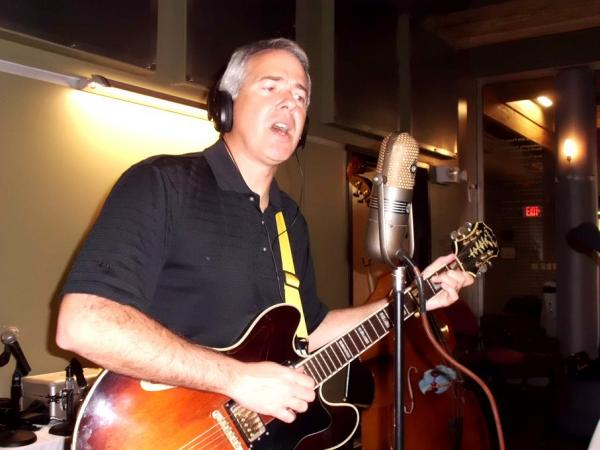 Loren Demerath (Vocals & Guitar) in the RRR Studios