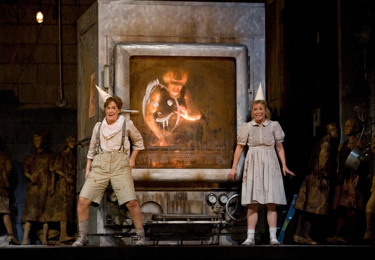 ... and Christine Schäfer as Gretel in Humperdinck's Hansel and Gretel