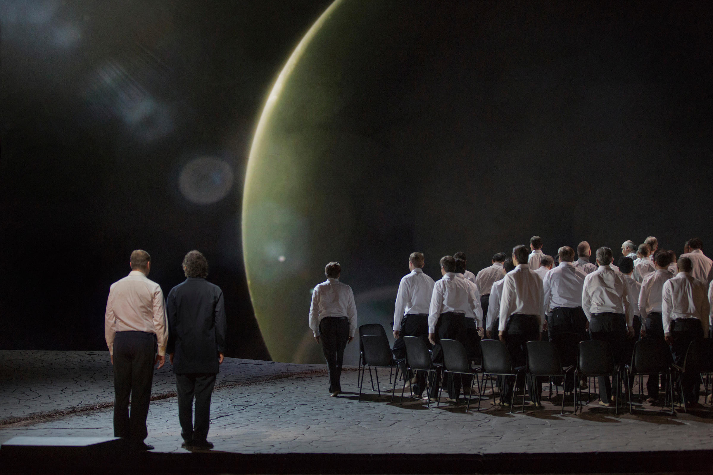 A Scene From Act I Of Wagners Parsifal