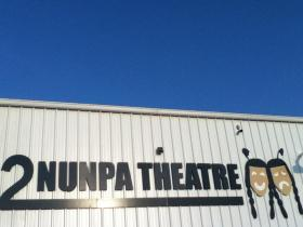 The Pine Ridge Reservation's Nunpa Theatre, in the village of Kyle.