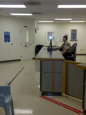Booking Area At The Juvenile Services Center In Rapid City