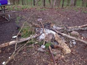 Officials say campfires can leave long-lasting detrimental impact on environment.