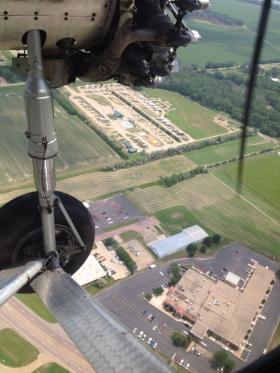Flight over rural Yankton, SD