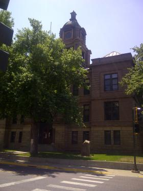 Teen Court proceedings take place in the Lawrence County Courthouse in Deadwood.