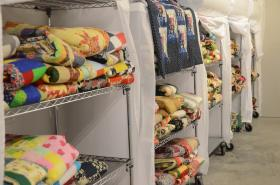 More than a thousand quilts have been made for patients.