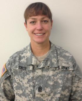 State Command Sergeant Major Susan Shoe