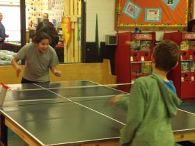 Ping-Pong has a long standing tradition at Rapid City's Club for Boys.